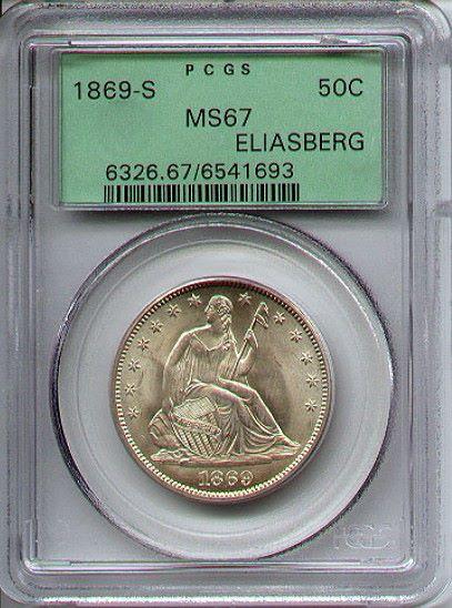 1869-S_50c_ms67_eliasberg